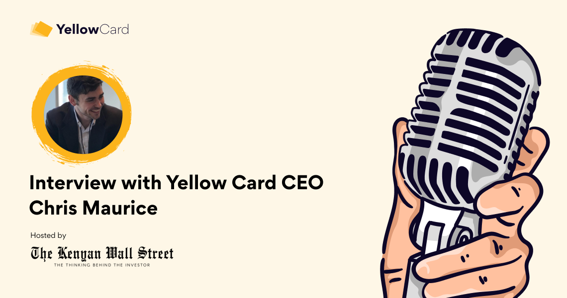 Interview with Yellow Card CEO Chris Maurice